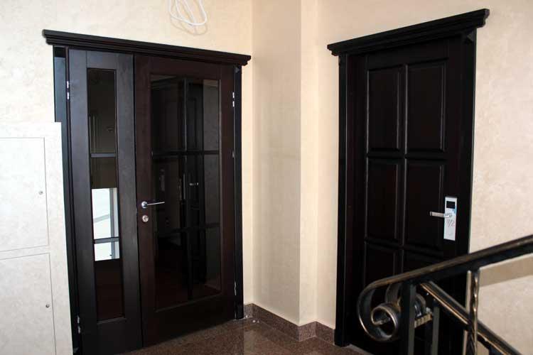 Двери из массива дуба купить в Минске от производителя